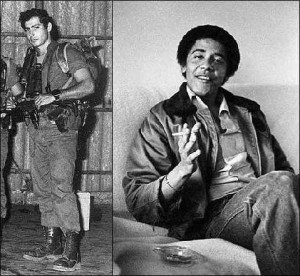 Netanyahu and Obama in their twenties