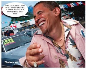 Obama - Used Car Salesman