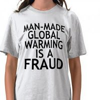 Global Warming Fraud T-Shirt