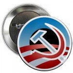 Obama Commie Pin