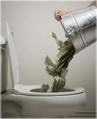 money_down_toilet