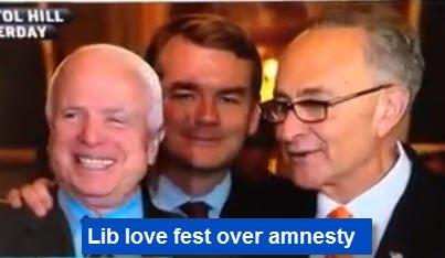 McCain Schumer love