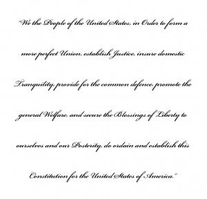 preamble constitution