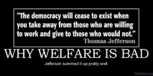 welfare - Jefferson quote