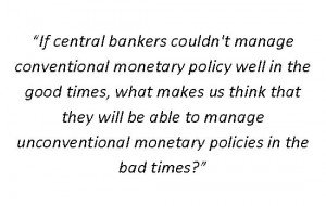 If central bankers could