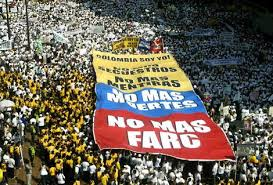 Colombians rally against FARC